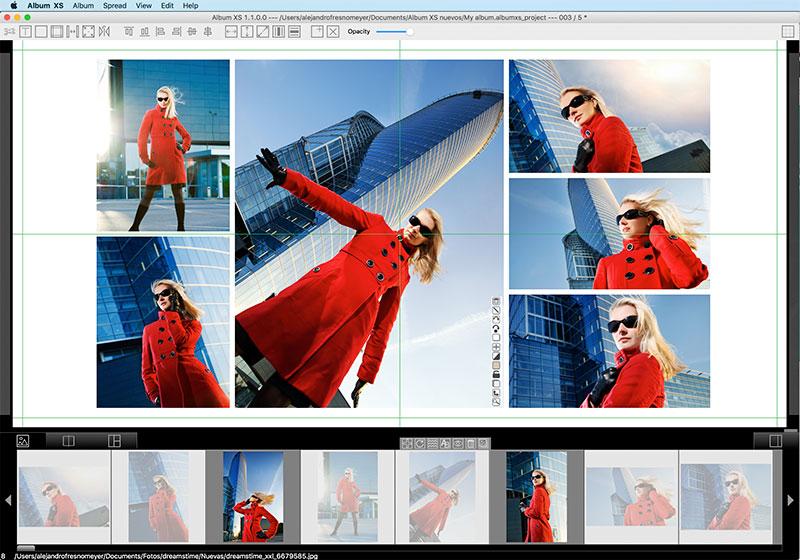 Album design for professional photographers